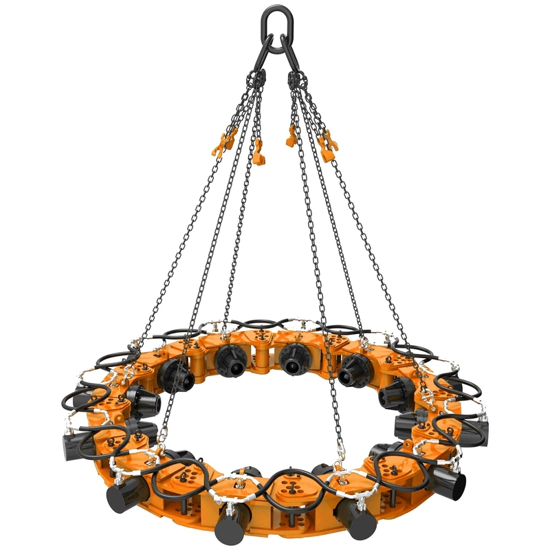 1800mm Steel Hydraulic Pile Cutter Use With Excavators