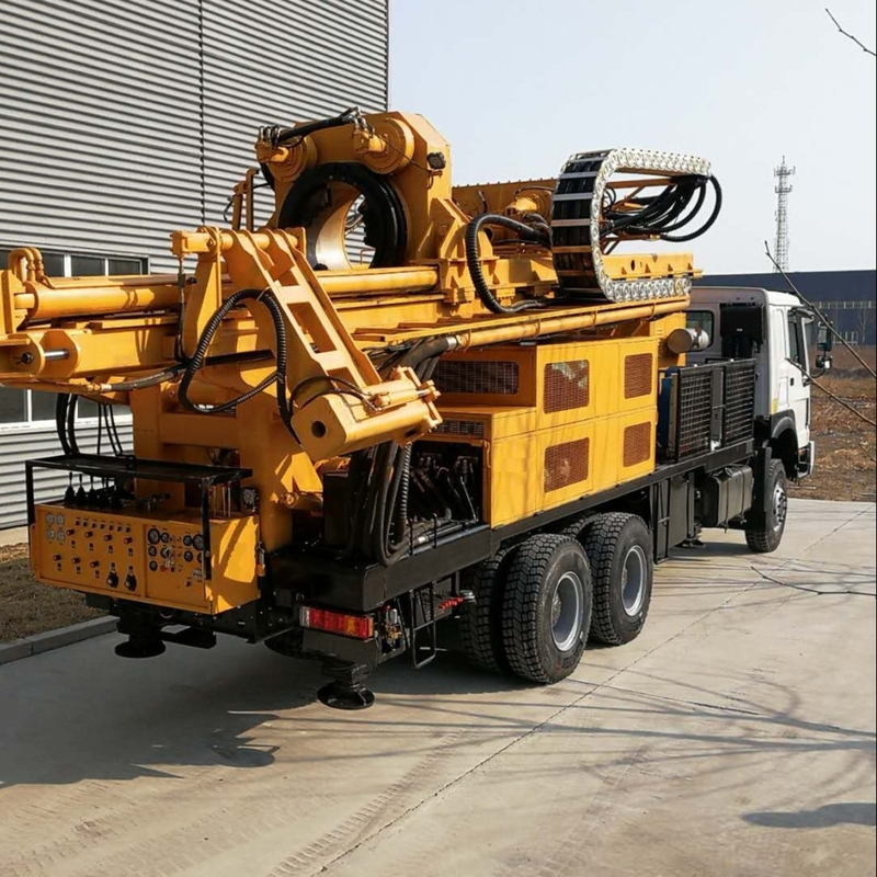 800m Depth SNR800CS 150rpm Waterwell Drilling Rig